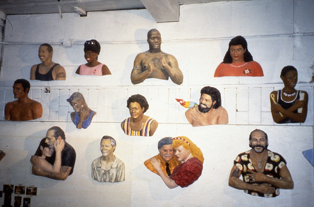 ONLINE: John Ahearn and Rigoberto Torres: Works from the 42nd Street Art Project, 1993 - Installation View