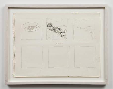 Paul Thek ,   Untitled (9/27/75)  ,  1975     pencil on paper     11 3/4 x 16 in/ 30 x 40.6 cm     PAT-75-DR-270