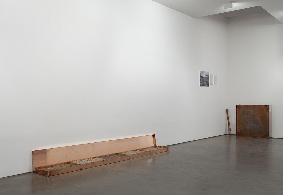 Robert Kinmont: trying to return home educated - Installation View