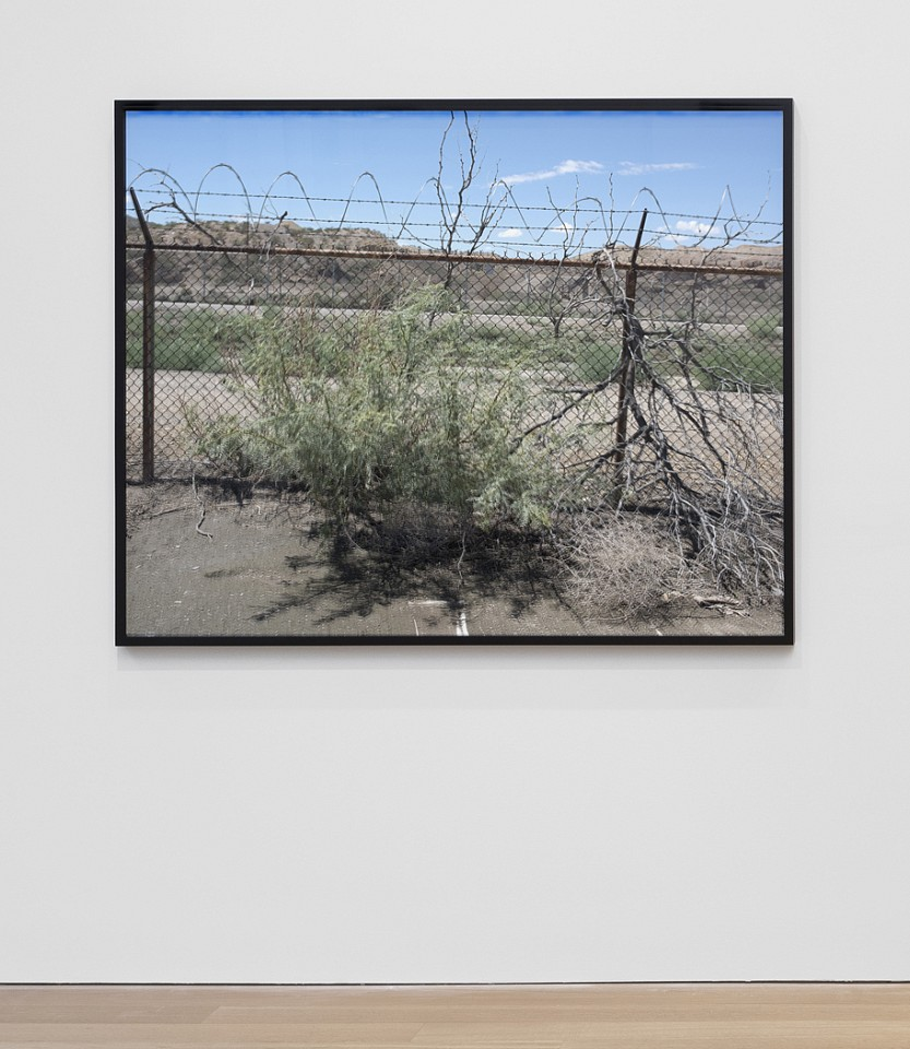 Willie Doherty ,   At The Border, Indeterminate Status (Disappear) El Paso, Texas  ,  2017     framed pigment print mounted on dibond     43 x 53 1/2 in/109.2 x 135.9 cm     WID-17-PH-298