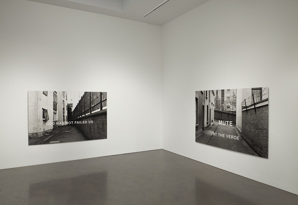 Willie Doherty: One Place Twice, Photo/Text/85/92 - Installation View