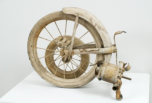 Jean Tinguely ,   'Wheels' fragment  ,  1960     metal, rubber and wire     16 5/8 x 21 1/2 x 16 1/8 in/ 42.2 x 54.6 x 41 cm     JET-60-SC-006