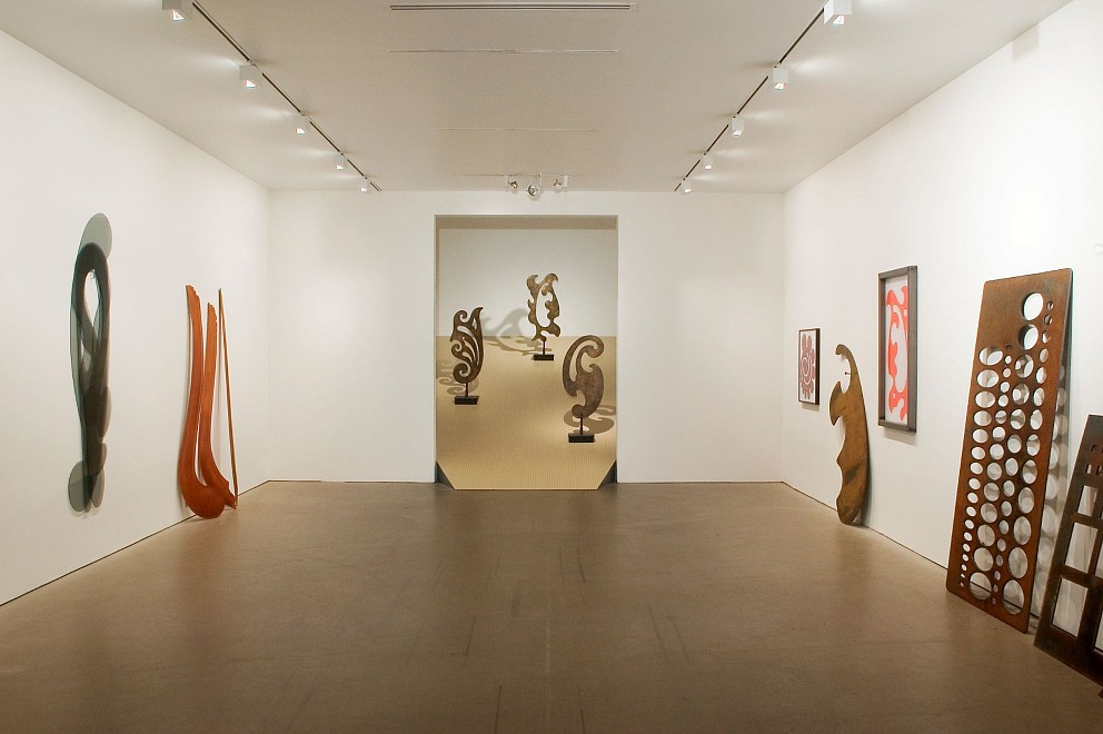 Rita McBride: Double to Watch, Triple to Help  - Installation View