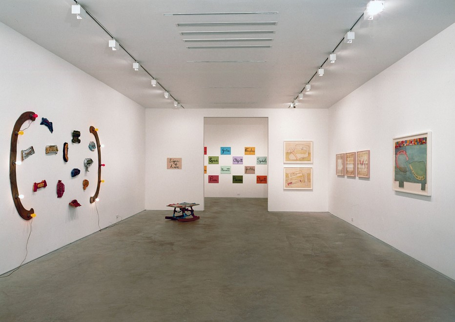 Ree Morton: Drawings, Signs and Beaux 1974-1976 - Installation View