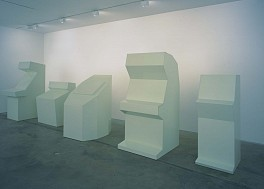 Past Exhibitions: Rita McBride: White Elephant and Albatrosses Apr 21 - May 26, 2001