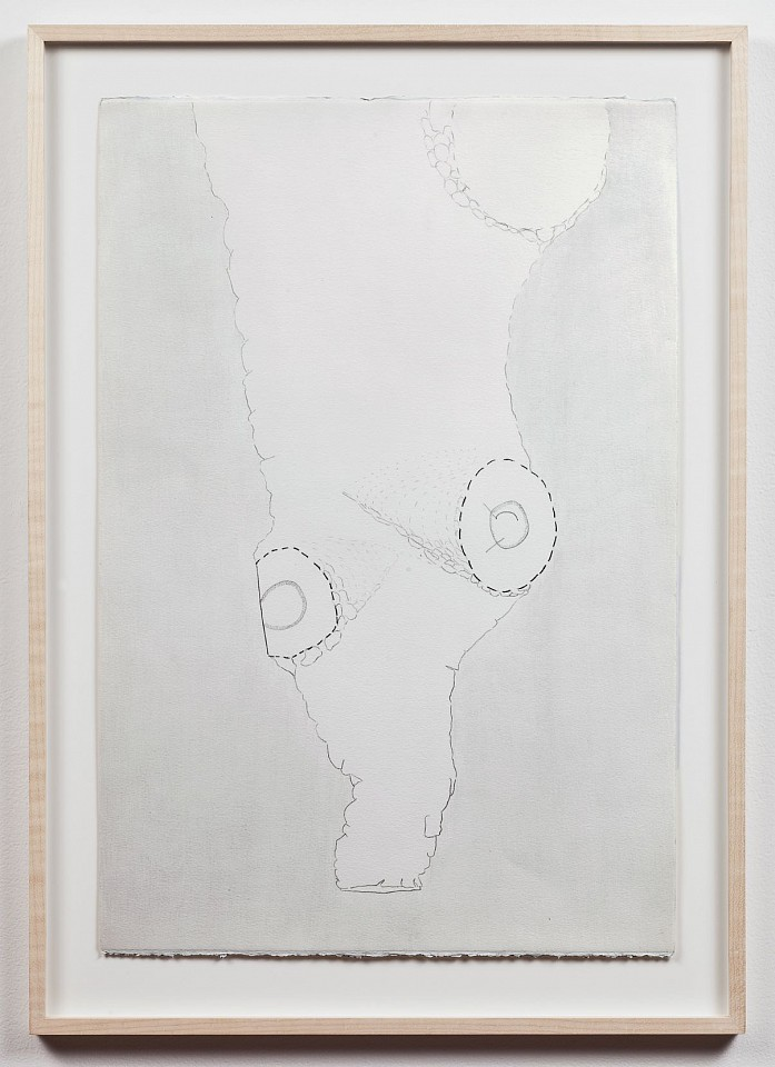 Ree Morton ,   Newfoundland Drawing  ,  1973     pencil on paper     22 1/4 x 15 in./56.5 x 38.1 cm     REM-73-DR-052