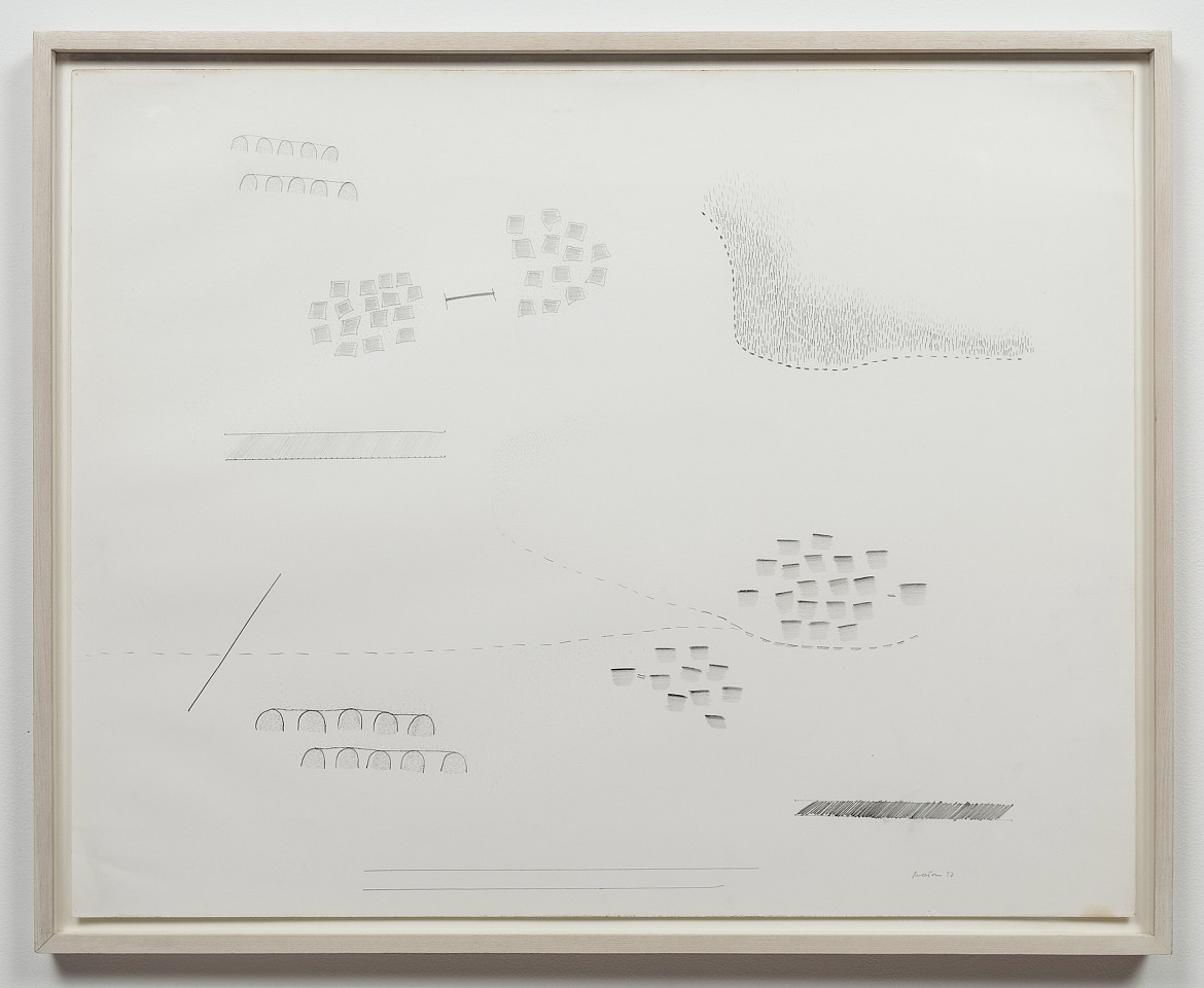 Ree Morton ,   Untitled  ,  1972     pencil on paper     23 x 29 in/58.4 x 73.7 cm     REM-72-DR-043/R
